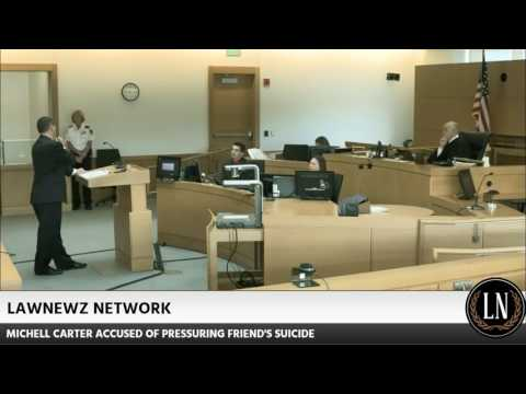 Michelle Carter Trial Day 4 Officer Justin King Testifies 06/09/17