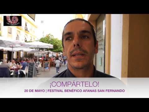 Festival benéfico en favor de Afanas San Fernando. ¡Compártelo!