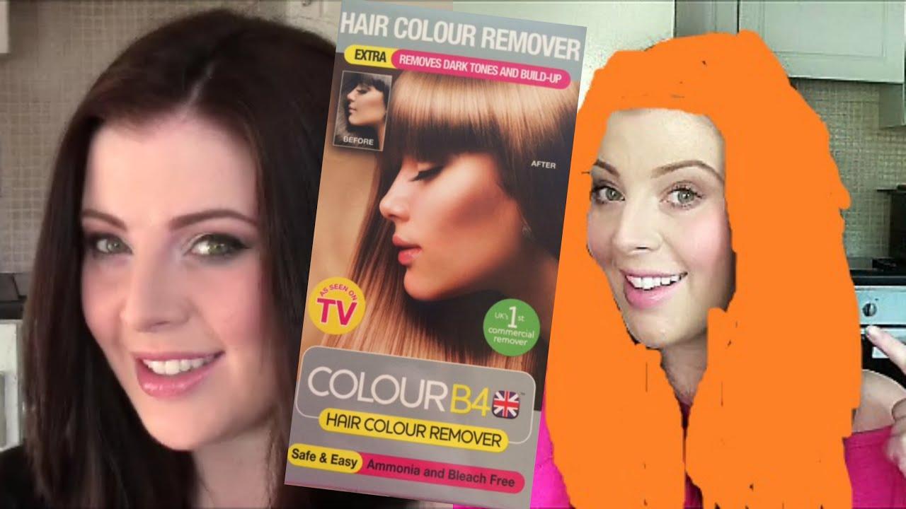 colour b4 demo results review mymakeupperspective youtube - Color Out Sur Cheveux Noir