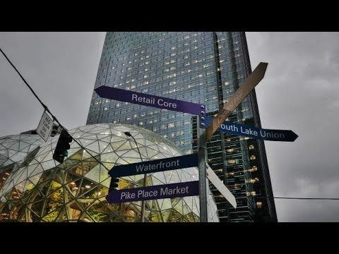 Visite guidée d'Amazon, le titan qui a transformé Seattle