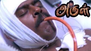 Arul  Arul Tamil Movie Scenes   Pasupathy is dead   Sarathbabu helps Vikram   Jyothika -Vikram Movie
