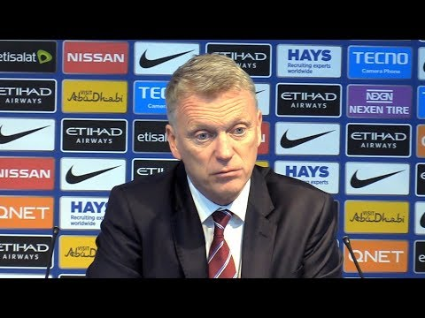 Manchester City 2-1 West Ham - David Moyes Post Match Press Conference - Premier League #MCIWHU