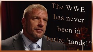 Triple H discusses the vacated WWE World Heavyweight Championship