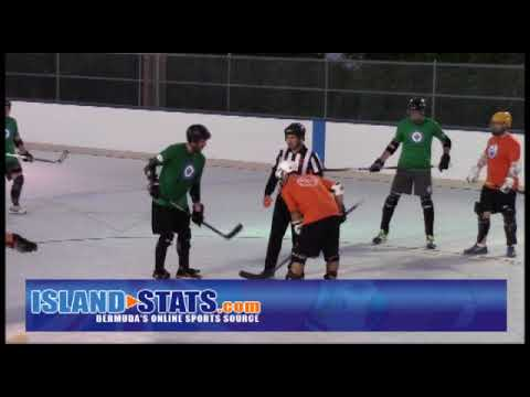 Bermuda Ball Hockey Winnipeg Jets vs  Edmonton Oilers