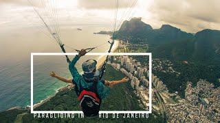 FIRST TIME PARAGLIDING   RIO DE JANEIRO, BRAZIL