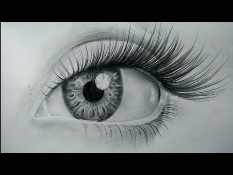 How To Draw Realistic Eyes Easy Step By Step Art Drawing Tutorial