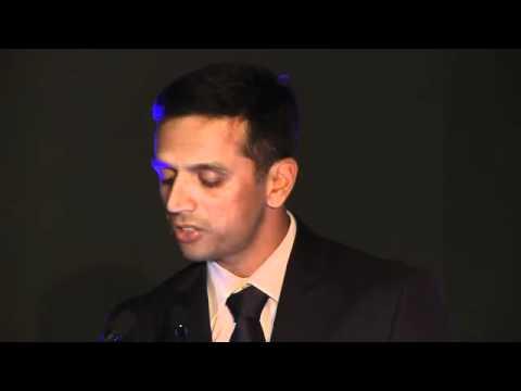 Sir Donald Bradman Oration 2011 - by Rahul Dravid