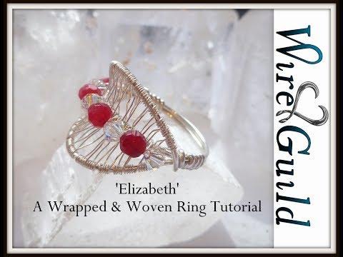 Elizabeth Wire Erapped & Woven Ring Tutorial