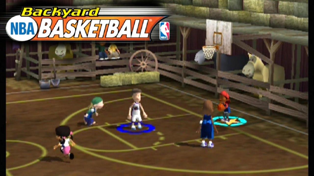 Backyard Basketball ... (PS2) - YouTube