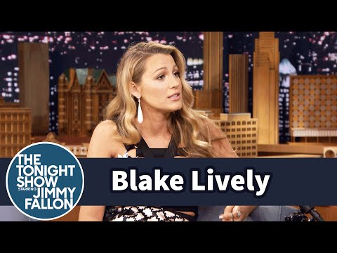 Blake Livelys Daughter Says Sit in a Funny Way