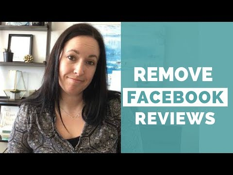 How to Remove Reviews from Your Facebook Page - YouTube