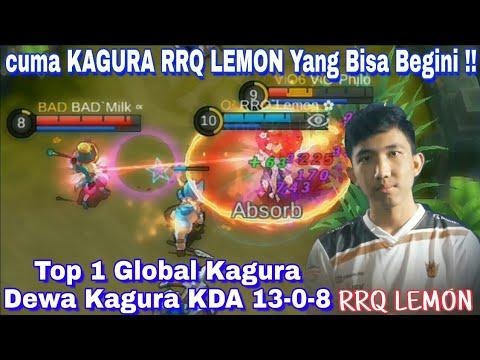 Cuma KAGURA RRQ LEMON Yang Bisa Begini   Kagura RRQ Lemon PERFECT Gameplay   Ranked Match