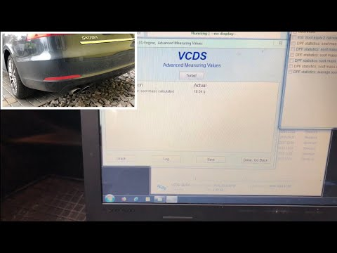 How To Regenerate Particle Filter / DPF With VCDS (Skoda Superb 2 Facelift 2.0 TDI)