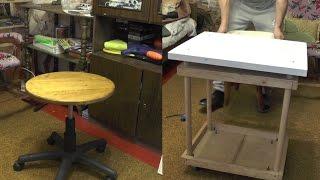 Как сделать стол своими руками. Самодельные столы. Самодельный стол