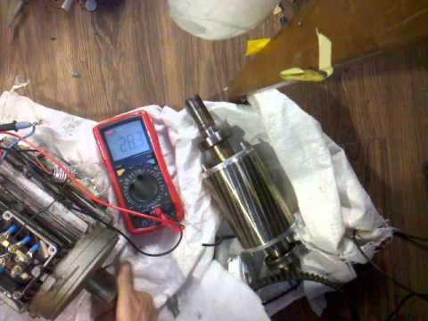 Generator din motor asincron