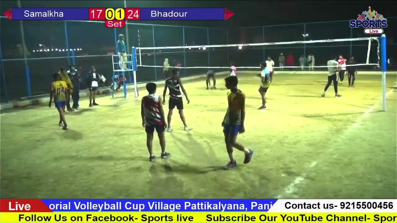 Roshan Lal Rathi Memorial Volleyball Cup Village Pattikalyana, Panipat Dated-21&22 Nov.2020
