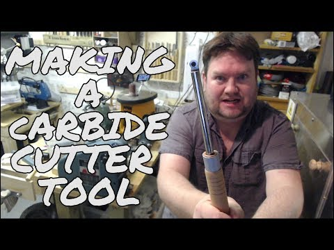 Making a Carbide Cutter Woodturning Tool - Basic Guide