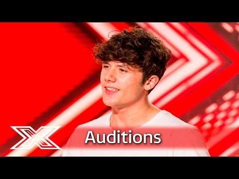 Ryan Lawrie takes on The Vamps' Oh Cecilia | Auditions Week 1 | The X Factor UK 2016