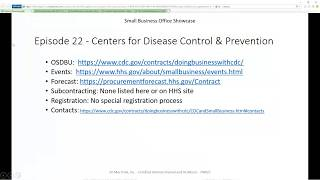 Centers for Disease Control and Prevention (CDC) | OSBP Episode 22