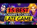 Gambar cover 15 UNSTOPPABLE Champions in the LATE GAME - SOLO CARRY with These Picks - LoL Guide
