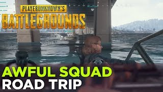 Russ, Pat, Nick, Griffin, and Charlie Are Back at it Again in BATTLEGROUNDS