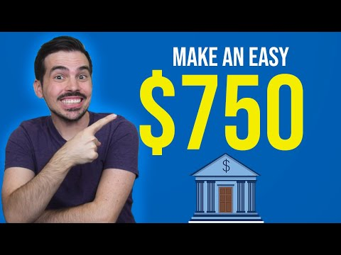 Bank Bonus - Earn Up To $750 💰💰 (Bank Churning)