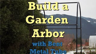 In this video, we replace our cedar garden rose arbor with something a little larger and much sturdier. The replacement is built with 1
