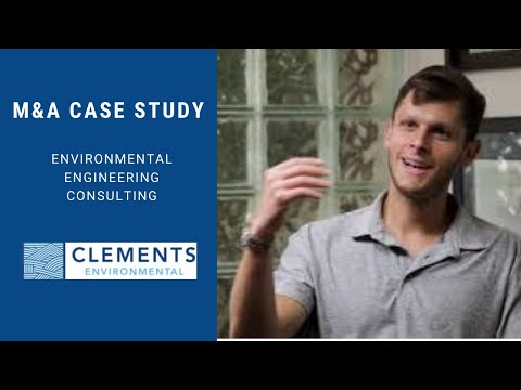 Merger & Acquisition (M&A) Transaction Case Study - Environmental Consulting Business