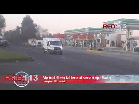 VIDEO Motociclista fallece al ser atropellado