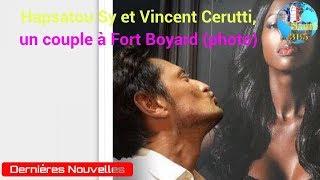 Hapsatou Sy et Vincent Cerutti, un couple à Fort Boyard (photo)