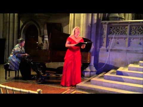 Clint Borzoni, Composer Caroline Worra, Soprano Jennifer Peterson, Piano
