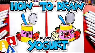 How To Draw Fuฑny Yogurt