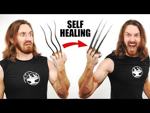 I Made Adamantium Wolverine Claws!?