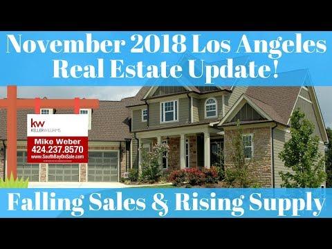 November 2018 Housing Market Update Los Angeles & South Bay