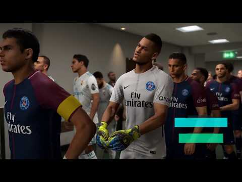 PES2018, PARIS SAINT-GERMAIN -  REAL MADRID