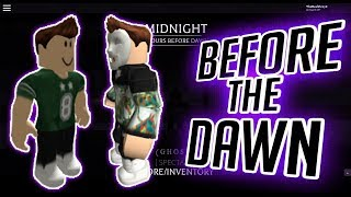 I DONT THINK HE SAW ME... | Before the Dawn | Roblox