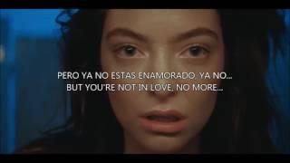 Green Light - Lorde (Sub.Español / Lyrics)