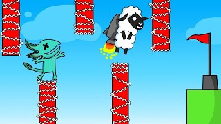 99% IMPOSIBLE INCLUSO USANDO JETPACK 😆 - ULTIMATE CHICKEN HORSE
