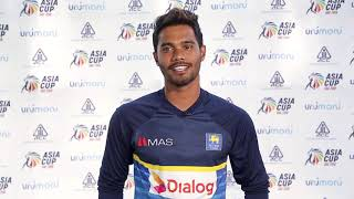 Sri Lanka Batting All Rounder Dhananjaya de Silva on Asia Cup UAE 2018