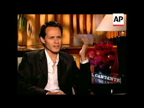 Marc Anthony taps star's life for 'El Cantante'