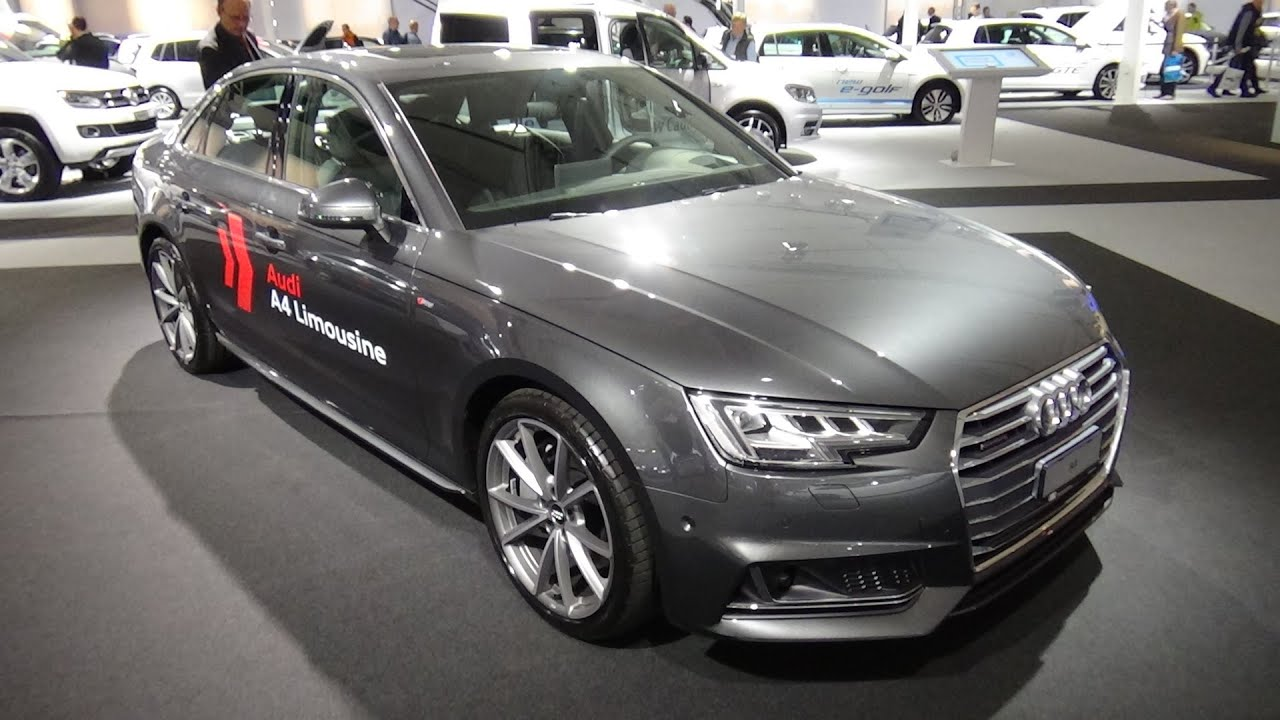 2016 audi a4 limousine sport exterior and interior. Black Bedroom Furniture Sets. Home Design Ideas