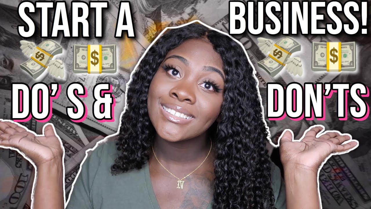 DO'S AND DON'TS OF STARTING AN ONLINE BUSINESS! | LIFE OF AN ENTREPRENEUR EP. 7