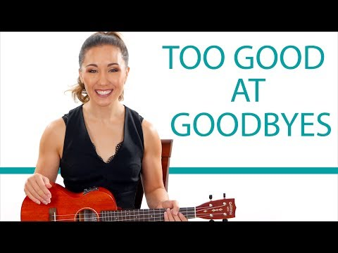 Too Good At Goodbyes -  Easy Sam Smith Ukulele Tutorial with Play Along