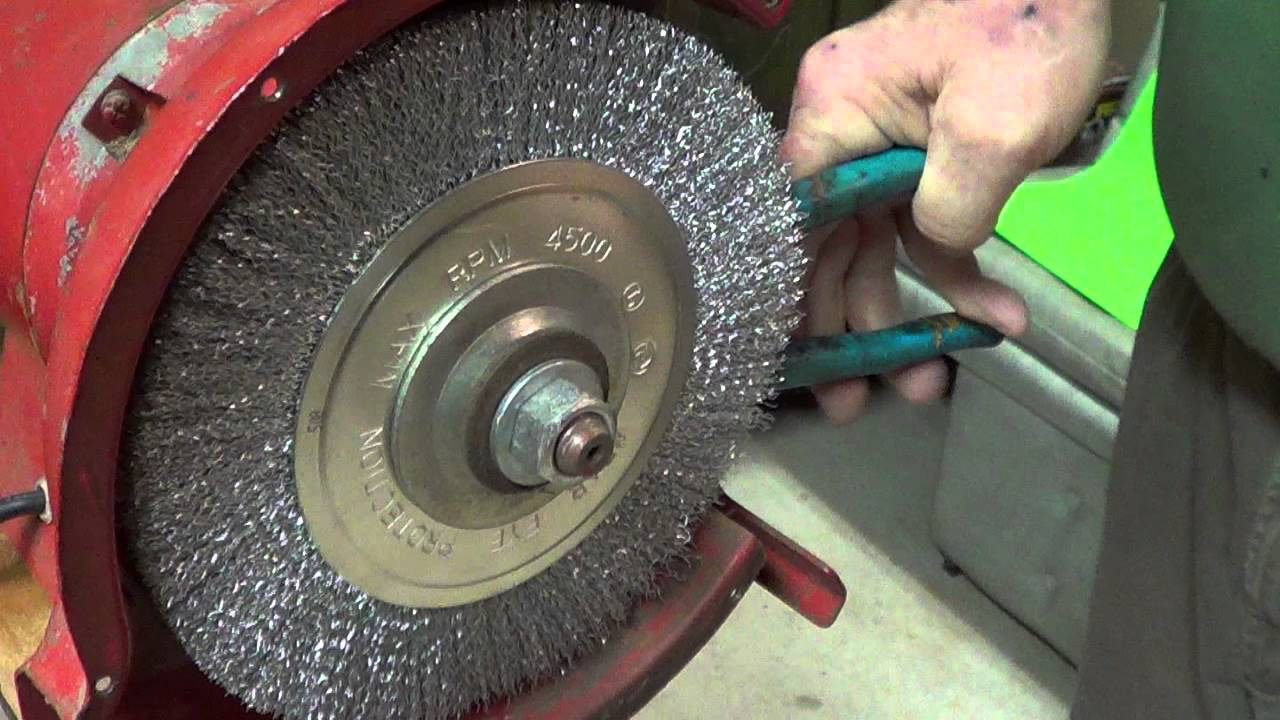 Replace A Grinder Stone Part Three 3 4 2016 Youtube