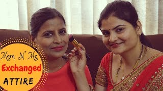 #FunVideo When Mom N Me Exchanged Attire | Mom Did My Makeup N I Did Her | #Real Homemaking