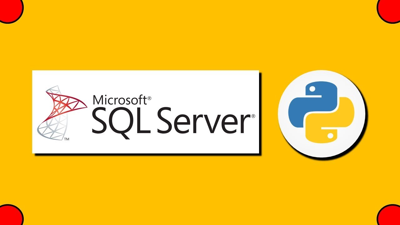 Connect to SQL Server with Python