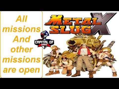 Download Metal Slug X Complete Game HD With Epsxe 2.0.5 USA Version + How To Setup Program-controls