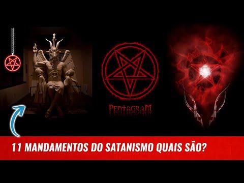11 MANDAMENTOS DO SATANISMO QUAIS SÃO?