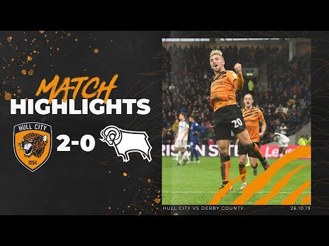 Hull City 2-0 Derby County | Highlights | Sky Bet Championship