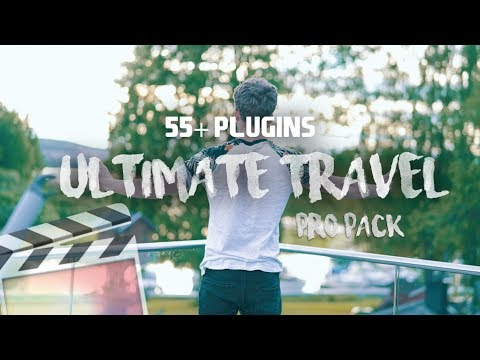 ULTIMATE FILMMAKERS TRAVEL PACK // 55+ transitions, luts & more | Final Cut  Pro X